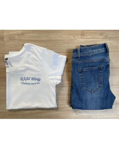 T-shirt BIO femme - coupe loose - F*ck COVID