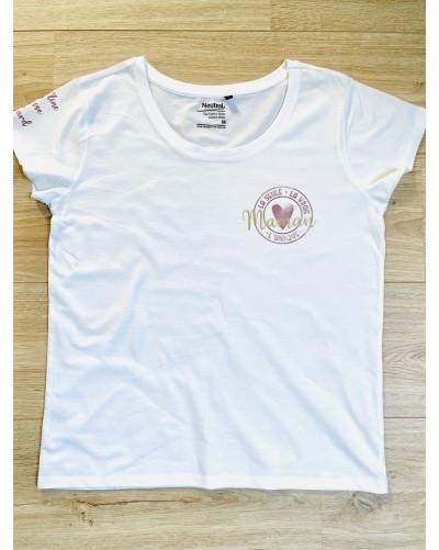 T-Shirt BIO femme - coupe loose - Maman unique