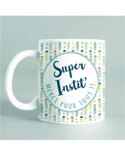"Mug ""Super Instit"" vert"