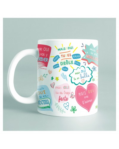 "Mug ""Mais oui!"" - version..."