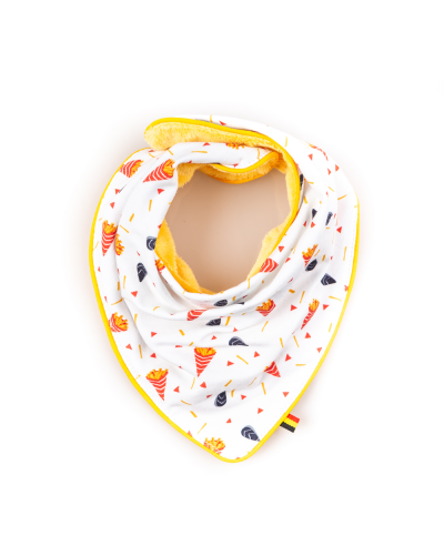 "Foulard cow-boy ""Moules frites"" couleurs"