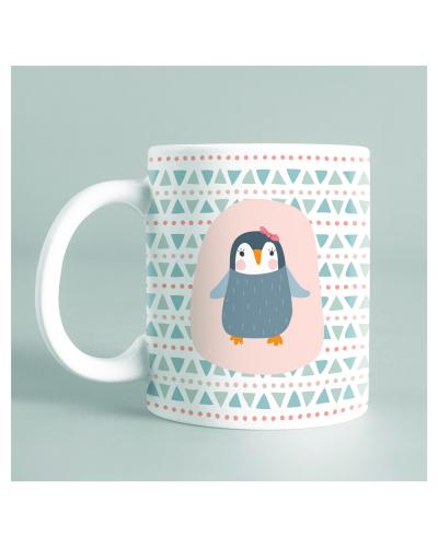 "Mug ""Pingouin soeurette"""
