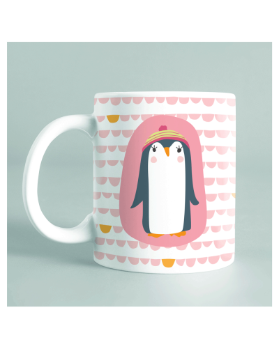 "Mug ""Pingouin maman"""