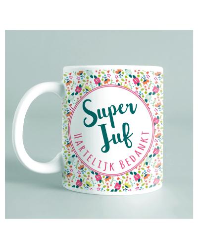 """Mug """"Super Juf"""""""