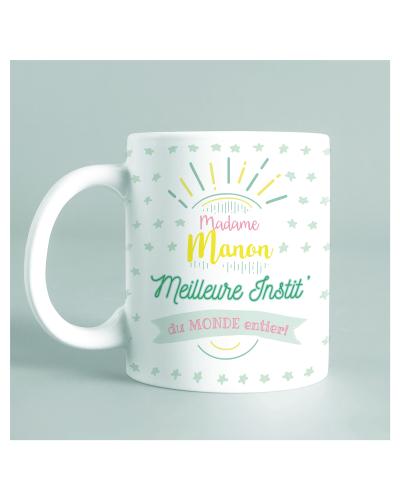 "Mug ""Meilleure instit' du..."