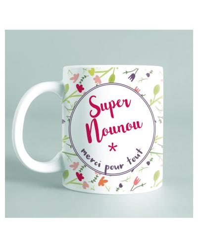 "Mug ""super nounou"""