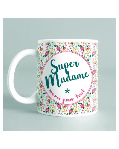 "Mug ""super madame"""