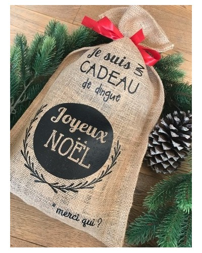 Hotte de Noël - Cadeau Dingue