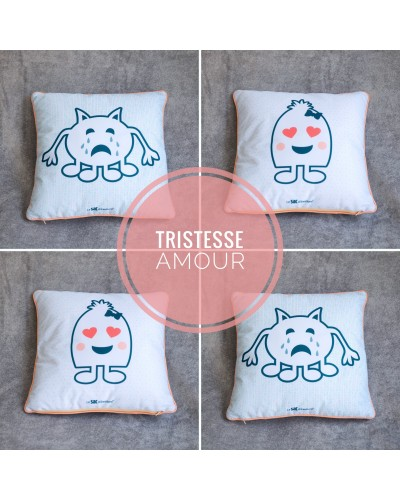 COUSSIN D'EMOTIONS
