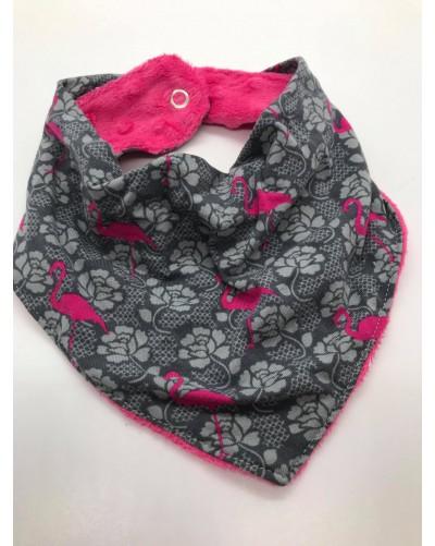 Foulard bébé - Flamants roses