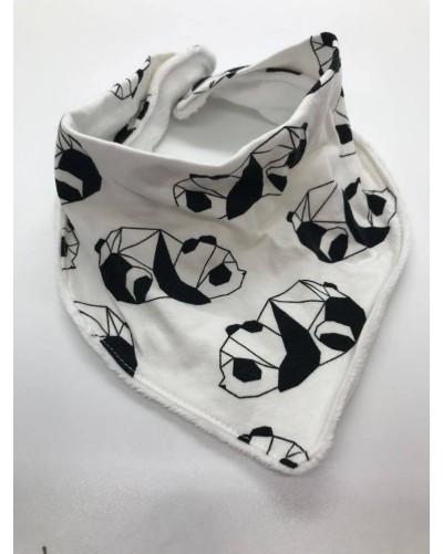 Foulard bébé - Pandas