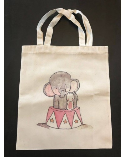 Mini Tote Bag -